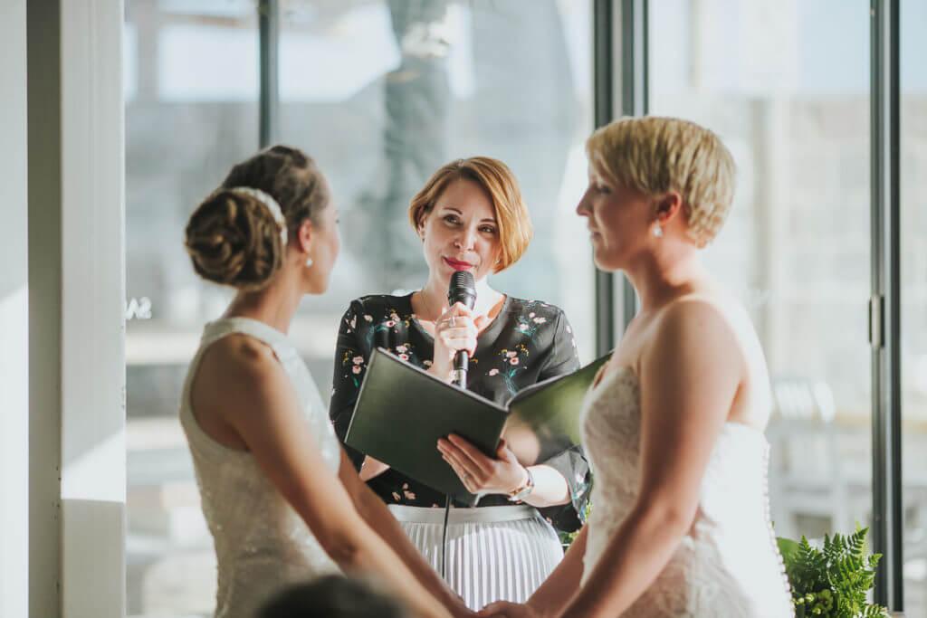 Erin and Nicole - Wedding Celebrant Melbourne Charis White